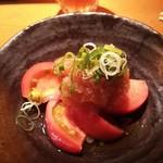 54375181 - 冷たいトマトおろしポン酢