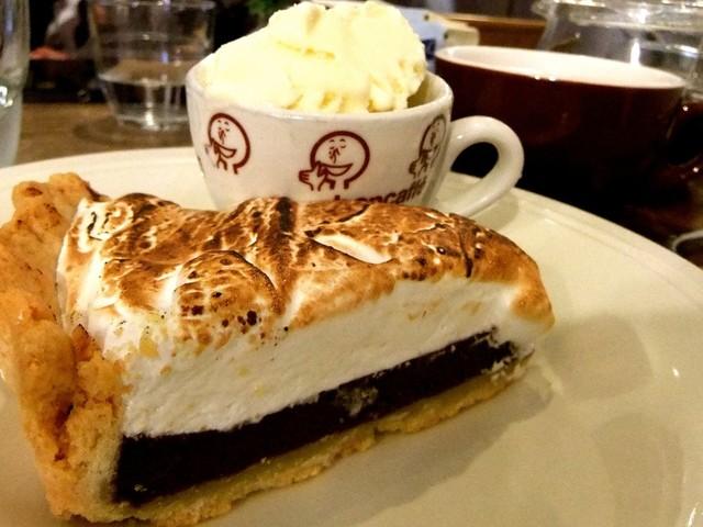 Jiyugaoka BAKE SHOP - スモアパイ♡バニラアイイスクリーム