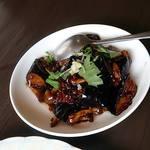 チャイナ厨房盧山 - とても美味しい茄子