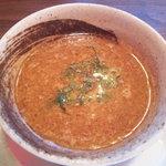 麺舎 いっとう - つけ汁(H22.10)