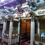 Taiyoshihyakuban - 陽明門。眠り猫もいますよ