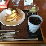 珈楽庵 - フレンチトースト&アイスコーヒー