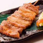 肉×魚×日本酒 照 - 『豚の直火焼き串(2本)』
