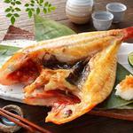 肉×魚×日本酒 照 - 『キンキの一夜干』