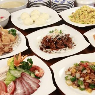 上海料理を中心に、本格中華の逸品を豊富にご用意しております。