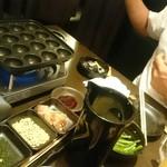 えこひいき - たこ焼きの作り方が親切に書いてある(*^^*)