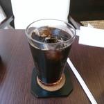 カフェ マルル - 【2016.8.3(水)】セットのアイスコーヒー