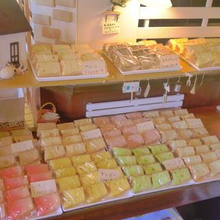 16種類のふぁふぁシフォンケーキが食べ放題