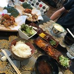 Kazamidori - ミドリちゃんランチとサガミ―くんランチ
