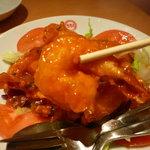 551蓬莱 - ☆大ぶりな海老さんが食べ応えあります☆