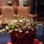 イーエイチバンク - ☆新郎新婦様のお席はなかなか素敵です(^^♪☆