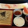 松乃栄 - 料理写真:寿司とそばのセット