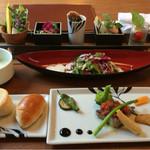 シェ タカ - 料理写真:1800円ドリンクデザート付き