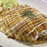 飯処にっくん - オムスパ麺