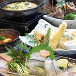食処 かくら - 料理写真:【夜】季節のお料理多数あり。