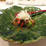 東郷 - 和歌山産 鮎の野菜あんかけ