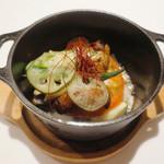 東郷 - 伊達鶏と旬の野菜の塩すだち焼き