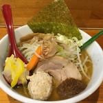 つけ麺 しろぼし - 醤油炊き しろぼし らーめん('16/08/03)