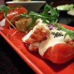 東京バルバリ - 070522バルバリ鴨茄子とオマール海老のサラダ