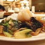 中国薬膳料理 星福 - 070114星福特製薬膳海鮮焼きそば