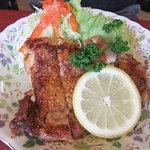 カフェレストラン ソマリ - チキンソテーとグラタン