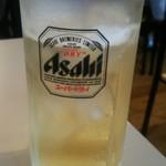 八昌 - 八海山梅酒ソーダ割