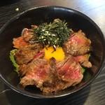 54400624 - でんなーステーキ丼(お肉ダブル)(¥1680)