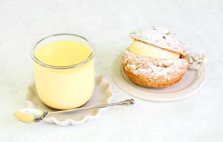 粉と卵 - 卵プリン/シュークリーム