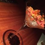 54401400 - ◆~029 cocktail~                       キャビア イクラ オクラ 燻製大根
