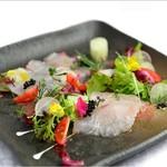青葉台食堂george - 鮮魚のカルパッチョ