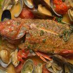 青葉台食堂george - 直送鮮魚のアクアパッツァ