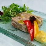 青葉台食堂george - お肉のパテ