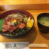 鮨 よし喜 - 料理写真:づけあな丼 1100円