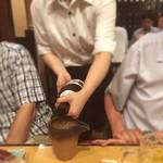 54403812 - 呑み放題の日本酒が豊富