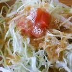 ヤマダデリ - セットのサラダ(アップ)