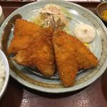 54406360 - 鯵フライ定食