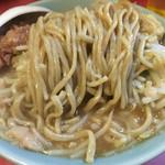 ラーメン二郎 - 麺は柔めで