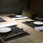 ミモザ - テーブル席