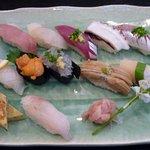 江戸前きよ寿司 - 店主おまかせ寿司  3,000円