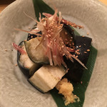 Ajidourakubenten - 泉州水茄子浅漬け