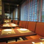 星期菜 - お店は洗練されたスタイリッシュな店内で個室からテーブル席と利用方法によって様々な使い方が出来る様になってます。