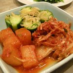 朝鮮飯店 - 「キムチ盛り合わせ」