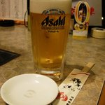朝鮮飯店 - 生ビール