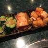 盧山 - 料理写真:キムチ盛り合わせ