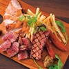 CAFE ITCH - 料理写真:特製肉盛り