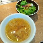 六本木焼肉 Kintan - 豚汁とダ~サラ♥ ランチセット♥ (~▽~@)♪♪♪