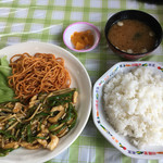 台南麺かちかち山 - 日替りランチ