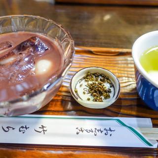 竹むら - 料理写真:冷やししるこ