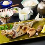 芝桜 - 焼魚御膳