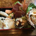 菊寿司 - 海鮮丼1100円